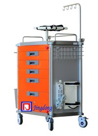Medical Crash Cart In Hospital Furniture