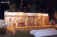 Fiber Glass Wedding Stage