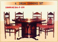 Drum Dining Set