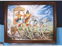 Arjun Rath Painting