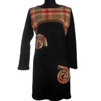 Ladies Black Woolen Kurti