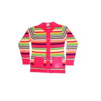 Girls Multicolor Wool Sweater