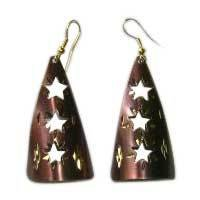 Designer Brass Earrings