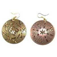 Brass Plated Earrings