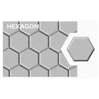Hexagon Concrete Paver Block