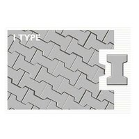 I Type Concrete Paver Block