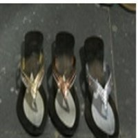 Metallic Based Slippers
