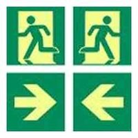 Escape Safety Signages