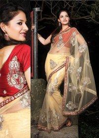Designer Net Fabric Saree