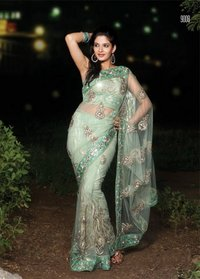 Exclusive Designer Net Sarees