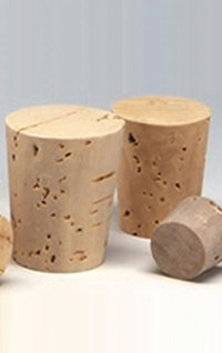 Tapper Corks And Cork Granules