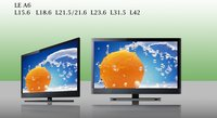 LED A6 Series (19inch-42inch) Color TV