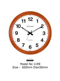 Model - 1199 Joint-Less Wooden Office Clock