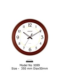 Model - 3399 Joint-Less Wooden Office Clock