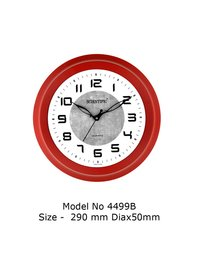 Model - 4499-B Joint-Less Wooden Office Clock