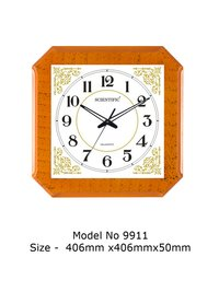 Model - 9911 Joint-Less Wooden Office Clock