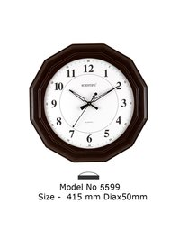 Model - 5599 Joint-Less Wooden Office Clock
