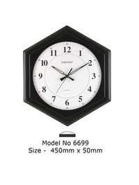 Model - 6699 Joint-Less Wooden Office Clock