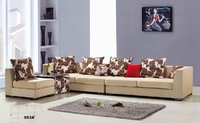 Contemporary Sectional Sofa With Coffee Table