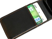 EXEC PU Leather Flip Case