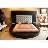 Oval Shaped Bed
