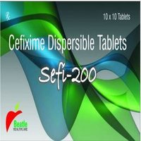 Cefixime Dispersible (200 Mg) Tablets