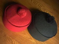 Western Arabian Wool Felt Cap