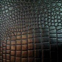 Crocodile Finished Leather