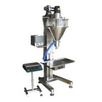 Semi-Automatic Auger Type Powder Filling Machine