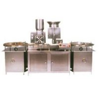 Dry Powder Filling And Stoppering Machine