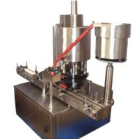 Automatic Screw And Cap Sealing Machine