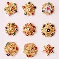 Gems Studded Nose Pin