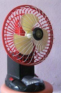 Rechargeable Portable Battery Operated 6v Table Fan
