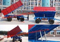 Tipping And Discharging Trailer