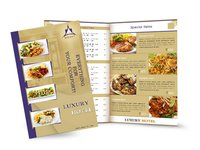 Menu Cards Designing