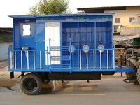 Mobile Urinal-Toilet Van