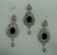 Margaret American Diamond Pendant Set