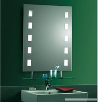 LED Lighted Illuminated Backlit Bathroom Mirror