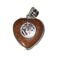Ladies Silver Heart Pendant