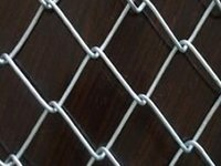 Galvanized Chainlink Fence