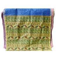 Matka Silk With Zari Border Sarees