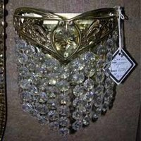 230mm Height Crystal Wall Light