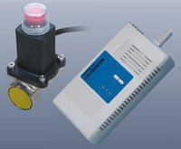 Carbon Monoxide Detector Alarm With Shut-Off Solenoid Valve