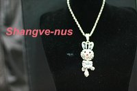 Rabbit Shape Pendant Necklace NRW0001