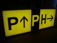 Air Port Signage Board