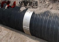 Steel Band Reinforce Pe Spirally Corrugated Pipe