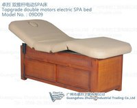 2 Motors Electric Massage Table Bed with Storage Box (09D09)