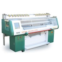 Single Carriage Single System Computer Knitting Machine