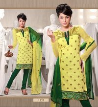 Designer Yellow Kurtis