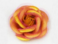 Handmade Chiffon And Satin Rose Flower